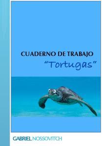 CUADERNO DE TRABAJO Tortugas