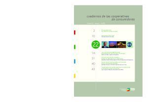 cuadernos de las cooperativas de consumidores
