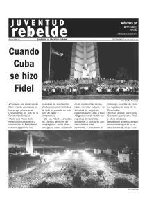 Cuando Cuba se hizo Fidel