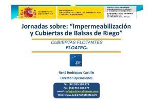 CUBIERTAS FLOTANTES FLOATEC