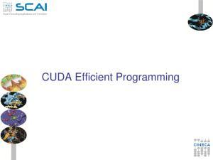 CUDA Efficient Programming