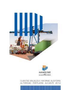 Cuentas anuales ejercicio 2012