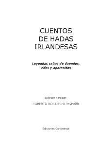 CUENTOS DE HADAS IRLANDESAS