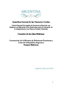 Cuestión de las Islas Malvinas