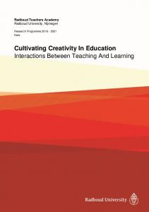 Cultivating Creativity In Education Interactions Between Teaching And Learning