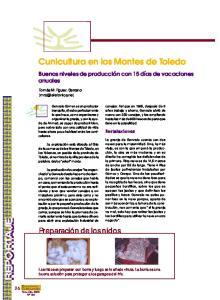 Cunicultura en los Montes de Toledo