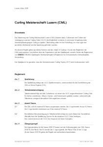 Curling Meisterschaft Luzern (CML)