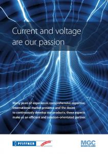 Current and voltage are our passion