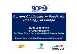 Current Challenges in Paediatric