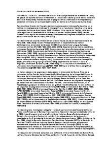 CURRICULUM VITAE abreviado (2007)