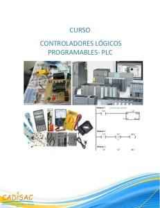 CURSO CONTROLADORES LÓGICOS PROGRAMABLES- PLC