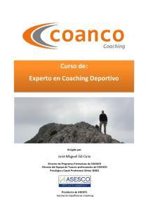 Curso de: Experto en Coaching Deportivo