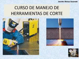 CURSO DE MANEJO DE HERRAMIENTAS DE CORTE