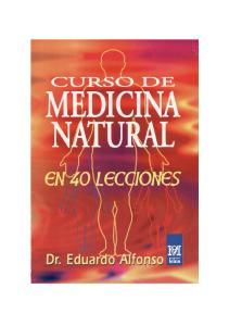 Curso de Medicina Natural. en Cuarenta Lecciones
