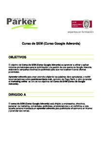Curso de SEM (Curso Google Adwords)