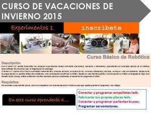CURSO DE VACACIONES DE INVIERNO 2015