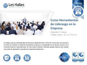 Curso Herramientas de Liderazgo en la Empresa