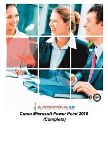Curso Microsoft Power Point 2010 (Completo)