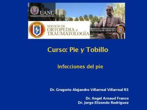 Curso: Pie y Tobillo