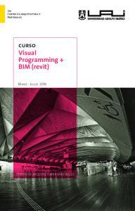 curso Visual Programming + BIM (revit)
