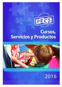 Cursos, Servicios y Productos