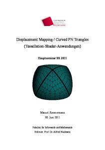 Curved PN Triangles (Tessellation-Shader-Anwendungen)