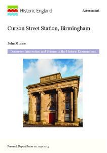 Curzon Street Station, Birmingham