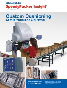 Custom Cushioning AT THE TOUCH OF A BUTTON