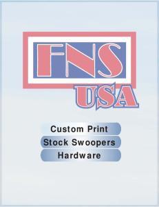Custom Print Stock Swoopers Hardware