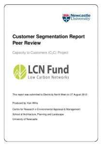 Customer Segmentation Report Peer Review