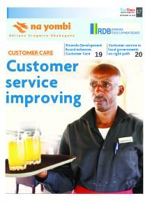 Customer service improving