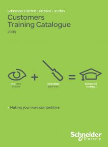 Customers Training Catalogue