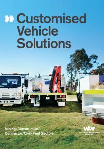 Customised Vehicle Solutions