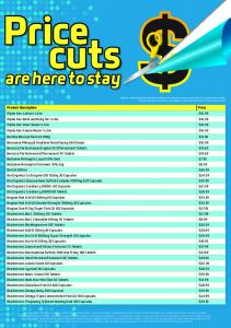 cuts Price are here to stay Product Description