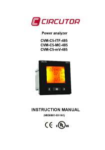CVM-C5-ITF-485 CVM-C5-MC-485