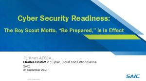Cyber Security Readiness: