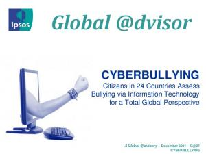 CYBERBULLYING. Citizens in 24 Countries Assess Bullying via Information Technology for a Total Global Perspective