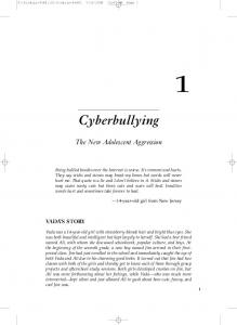 Cyberbullying. The New Adolescent Aggression