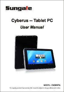 Cyberus -- Tablet PC