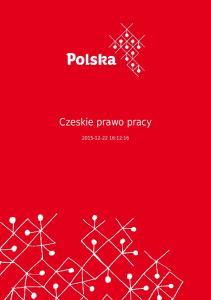 Czeskie prawo pracy :12:16