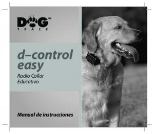 d control easy Radio Collar Educativo Manual de instrucciones