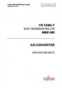 D CONVERTER APPLICATION NOTE