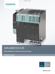 D type. SINAMICS Drives. Edition November Brochure. siemens