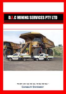 D.A.C MINING SERVICES PTY LTD