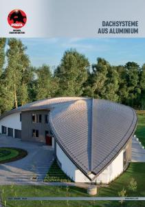 DACHsysteme AUs ALUmINIUm Dach fassade solar