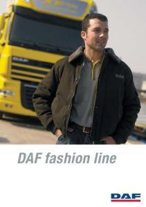 DAF fashion line 3 DAF FASHION LINE