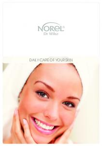DAILY CARE OF YOUR SKIN