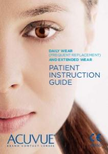 DAILY WEAR (FREQUENT REPLACEMENT) AND EXTENDED WEAR PATIENT INSTRUCTION GUIDE