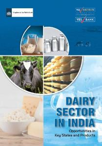 Dairy Sector in India Opportunities in Key States and Products