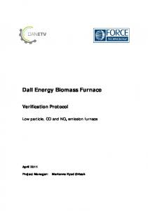 Dall Energy Biomass Furnace